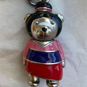 Disney X Coach Mulan Bear Bag Key Ring! Adorable!